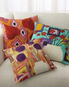 Shop luxury pillows and throw pillows at Horchow. Browse our luxurious selection of decorative and throw pillows in a variety of sizes and styles. Gold Pillows, Floral Pillows, Colorful Pillows, Decorative Pillows, Throw Pillows, Accent Pillows, Deer Pillow, Moon Pillow, Sunbrella Pillows