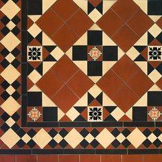 Pattern - Brighton Design with Newcastle Border