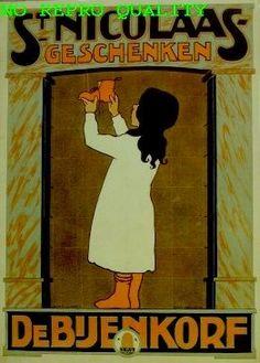 St. Nicolaas geschenken, De Bijenkorf   - Stedelijk Museum Amsterdam