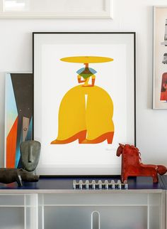 Lady. lllustration art giclée print signed by the artist. A2 poster. by PawelJonca on Etsy https://www.etsy.com/listing/223875886/lady-lllustration-art-giclee-print
