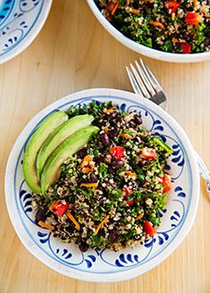 Kale Quinoa Black bean Recipe