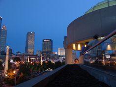 What a view! Beautiful Atlanta skyline as the backdrop of your wedding. Atlanta Wedding Venue, Metro Atlanta Chamber Rooftop   http://www.metroatlantachamber.com/about/mac/rooftop-venue