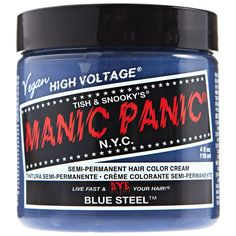 Sally Beauty offers Manic Panic Semi-Permanent Hair Colors for a bold and fearless hair color that last weeks. Manic Panic is a direct hair dye that requires no mixing, and is PPD, ammonia, and paraben-free. Vegan and cruelty-free formula. Cabello Manic Panic, Cheveux Manic Panic, Manic Panic Enchanted Forest, Manic Panic Colors, Manic Panic Hair Color, Nyc, Manic Panic Vampire Red, Diy Hair Toner, Punky Hair