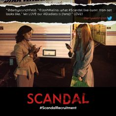 #ScandalRecruitment Month Reason 6: You get to chat with the cast every Thursday night! Follow our story on Storify - http://storify.com/ScandalABC/scandalrecruitment-month-reason-6