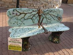 bench   This would be a great garden or patio bench!
