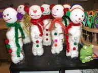Kids Crafts: Snowmen Love!