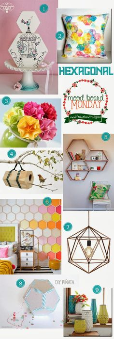 Mood Board Monday | Hexagonal | Life as we know it blog