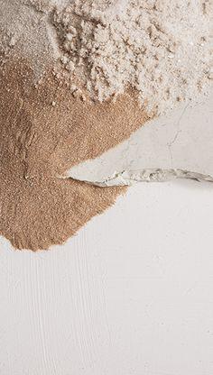 Beige cream powder