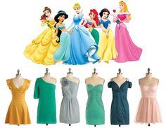 Modern Disney Princes dresses #princess #disney