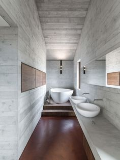 Gallery of Draw Inspiration From These 21st Century Bathroom Designs - 17