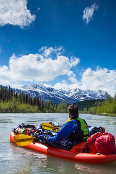 Inflatable kayaks provide a forgiving ride for beginners, but can also be used for long self-supported expeditions. The NRS Outlaw II is a versatile IK at a great price point. Inflatable Kayak, Kayaks, Mountains, Travel, Viajes, Trips, Kayaking, Tourism, Bergen