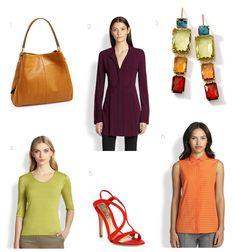 9.17.2014 Fall Colors - Wear Summer's Afterglow.  #ippolita #fallcolors #ootd #alexandermcqueen #armani #donnakaran #coach #akrispunto #style #trend