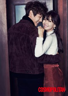 Can this 'We Got Married' couple get any cuter?Check out more cuts from the 'Cosmopolitan' shoot wit