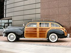 1941 Chrysler Town & Country Station Wagon..Re-pin Brought to you by agents at #HouseofInsurance in #EugeneOregon for #CarInsurance