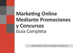 Marketing online mediante promociones y concursos