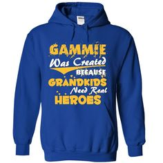 cool Gammie - A Real Hero  Check more at http://bustedtees.top/name-t-shirts/gammie-a-real-hero-review.html