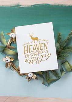 Heaven & Nature Sing Print