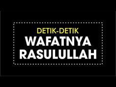Renungan Nabi Muhammad, Bikin Kita Nangis - YouTube