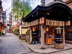 法善寺橫丁evening by Huang Louis on 500px