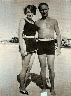 vintage everyday: Charlie Chaplin and Marlene Dietrich