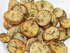 Recipe: Skinny Rosemary Parmesan Oven Potatoes