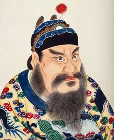 A portrait impression of the First Emperor from the eighteenth-century album Lidai diwang xiang (Portraits of emperors throughout dynasties). No images of the First Emperor survive from his time.