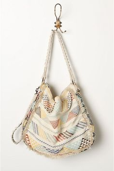 Giza Tote by Anthro Cute Purses, Purses And Bags, Boho Hippie, Bohemian, Hippy Chic, Boho Chic, Busse, Cute Bags, Backpack Bags