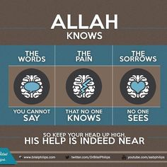 Allah knows and you do not know. Trust Him.  #TrustAllah #Islam #Muslim #islamicOnlineUniversity #BilalPhilips