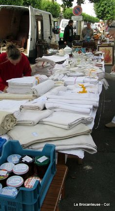 French linens are well known for their strength and beauty.