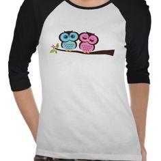 Reizendes Eulen T Shirt