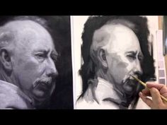 Painting the Portrait: The Grisaille Method in Oil Part 2 - YouTube