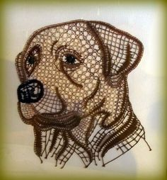 Labrador, SM 48 (€ 1.5) Needle Tatting, Needle Lace, Bobbin Lace, Flute Sheet Music, Lace Making, Fauna, Pet Birds, Needlework, Labrador