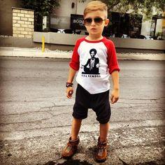 Alonso Mateo, um dos pequeninos mais fashion que encontramos no Pinterest.