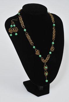 DIY Medieval Jewellery Set
