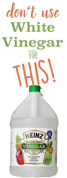 5 Reasons NOT to Clean with Vinegar | Don't clean these items with vinegar | Cleaning tips and Hacks | Toxin-free cleaning ideas | TodaysCreativeLife.com