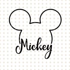This item is unavailable Mickey Tattoo, Disney Tattoos, Mickey Mouse Tattoos, Mickey Mouse Kunst, Mickey Mouse Clipart, Mickey Mouse Head, Mickey Mouse Stickers, Cajas Silhouette Cameo, Mickey Silhouette