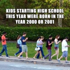 In a few short weeks, kids all over the country will be graduating high school as the class of 2014. Let's take a look at the incoming freshman class, the class of 2018. Here's how their experience will be different than yours…   58 Extremely Disappointing Facts About The Class Of 2018