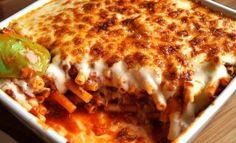 Makkaroni-Bolognese-Auflauf Allein bei dem Anblick kriege ich Hunger!
