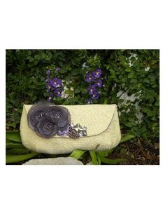 Bridal or Bridesmaid Clutch Bag  The Audrey Clutch in Dazzling Neutrals and by ChiKaPea, $45.00