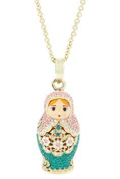 f3d8c9ea016ac1 36 Best Matryoshka doll necklaces images | Matryoshka doll, Jewelry ...