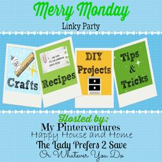 Merry Monday Linky Party #13 -$50 VISA Gift Card Giveaway!!! #giveaway #giftcard