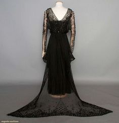 Evening Dress  1912  Augusta Auctions
