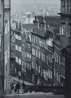 Prague by Josef Sudek Old Pictures, Old Photos, Vintage Photos, Josef Sudek, Prague Travel, Austro Hungarian, Foto Art, Famous Photographers, Black And White Photography