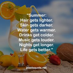 Summer is coming, with all the fun, love and inspirations. Let's celebrate this period of time with some happy and energetic summer quotes. Summer Rain, Summer Dream, Summer Nights, Summer Of Love, End Of Summer Quotes, Happy Summer Quotes, Positive Vibes, Positive Quotes, Ending Quotes