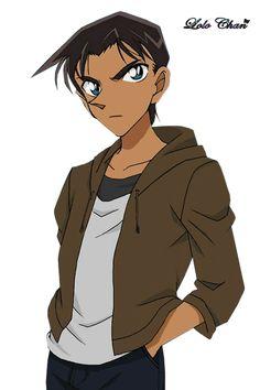 Heiji Hattori render by on DeviantArt Boruto Rasengan, Konan, Manga Detective Conan, Detective Conan Shinichi, Cartoon Girl Images, Girl Cartoon, Sasuke, Heiji Hattori, Detektif Conan