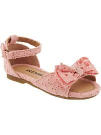 Eyelet Flats for Baby