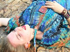 Leather Treasure Pouch Necklace/ Medicine Bag, made with salvaged leather, by Spiritfire Designs.