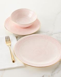 12-Piece+Pink+Lace+Dinnerware+Service+at+Neiman+Marcus.