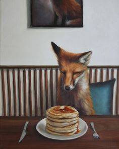 WOW x WOW is an online art resource, specializing in the promotion and celebration of the very best New Contemporary Art from around the world. Fox Spirit, Fox Pictures, Animals Amazing, Pet Fox, Cartoon Sketches, Fox Art, Native Art, Cute Funny Animals, Disney