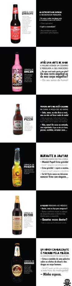 Cervejas Quentes & Piadas Frias
